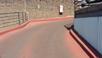 terrasse parking sur asphalte - - waterproofing coating, waterproof coatings, resine etancheite,