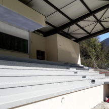 STADIUM STANDS, PASSAGEWAYS - waterproofing coating, waterproof coatings, resine etancheite,
