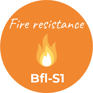 Tenue au feu Bfl-S1 - KEMICA COATINGS waterproofing coating, waterproof coatings, resine etancheite,